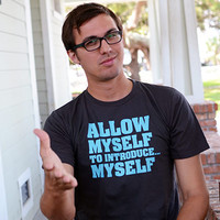 Allow Myself To Introduce...Myself T-Shirt | SnorgTees