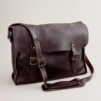 Men's new arrivals - accessories - Leather Railway bag - J.Crew