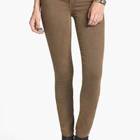 Articles of Society 'Mya' Overdyed Skinny Jeans (Army) (Juniors) | Nordstrom