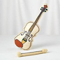 Plush Jamboree Fiddle (with Bow) in Nod Exclusives | The Land of Nod