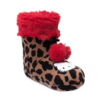 Hello Kitty Leopard Bootie, Red, at Journeys Shoes