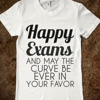 Supermarket: Happy Exams  from Glamfoxx Shirts