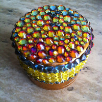 Herb Grinder Galaxy Gold by GanjaGlam on Etsy