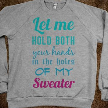Sweater Weather-Unisex Heather Grey Sweatshirt