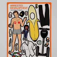 Arrested Development Dress-Up Magnet Set