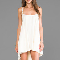 For Love & Lemons REVOLVE Exclusive Cherry Pop Dress in Cream