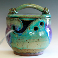 Kitty-Proof Yarn Bowl, As featured in SIMPLY KNITTING MAGAZINE