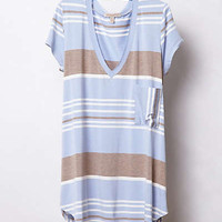 Anthropologie - Stripe Range V-Neck