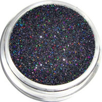 Black Holographic Glitter by CALLACosmetics on Etsy