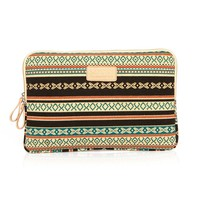 "ZLYC Bohemian Canvas Laptop Sleeve for iPad/MacBook Air (10"")"