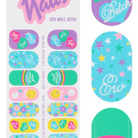 SICK NAILS BETCH RAD NAIL WRAPS