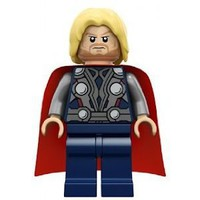Lego Heros Mini Figure Thor ( NEW 2012 Loose Figure Only)