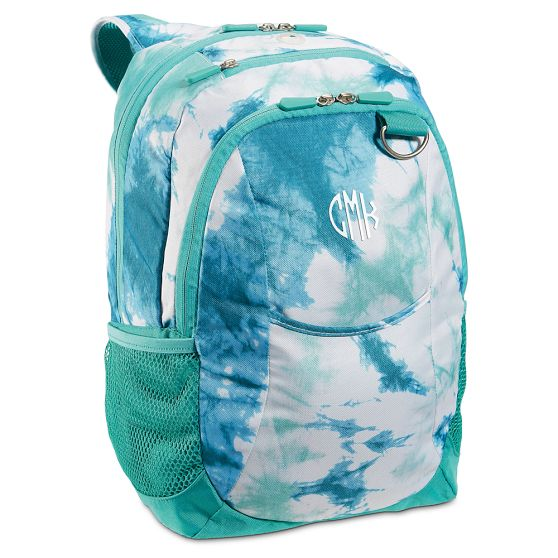 ketchum pool tie dye backpack from pbteen