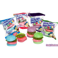 SpongeBob Gummy Krabby Patties Candy Packs - Colors: 36-Piece Box | CandyWarehouse.com Online Candy Store