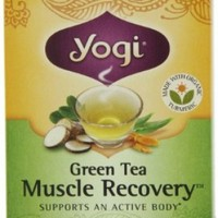 Yogi Green Tea Muscle Recovery, 16-Count Tea Bags (Pack of 6):Amazon:Grocery & Gourmet Food