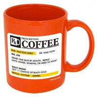 Prescription Coffee Mug-- Funny Coffee Mug!!-- Printed & Tested In The USA!!