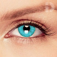 iD Lenses Aqua Coloured Contacts