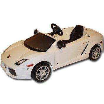 Toys Toys Lamborghini Gallardo LP560 Pedal Car in White