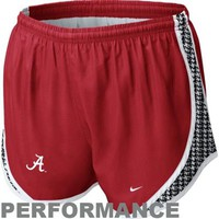 Nike Alabama Crimson Tide Ladies Tempo Performance Shorts - Crimson