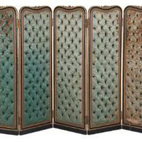 ANTIQUE TUFTED SCREEN  | curiosities  | FLEA  | Jayson Home & Garden