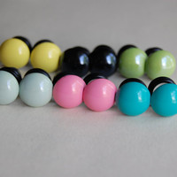 0g,00g Round Gumball Plugs-for stretched ears