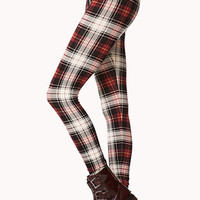 Standout Plaid Leggings | FOREVER 21 - 2000128613