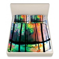 Artistic Bed Sheets | Aja-Ann | The Four Seasons | Dianoche Designs