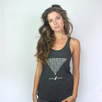 Wild and Free  Ecofriendly flowy tank top shirt in by EnterTheSun