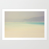 beach Art Print by ingz