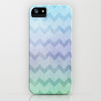 under the sea chevron iPhone & iPod Case by Sylvia Cook Photography