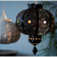 One Kings Lane - The Well-Traveled Home - Fes Lantern