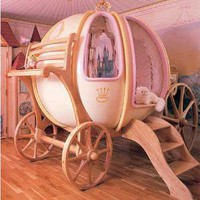 Fantasy Coach &amp;#8211; the Cinderella Pumpkin Carriage Bed | 2dayBlog - Technology Journal, New Gadget everyday!