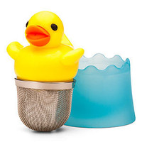 ThinkGeek :: Duck Tea Infuser