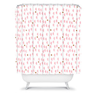 DENY Designs Home Accessories | Laura Redburn Pink Rain Shower Curtain