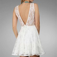 White Lace Dresses :: windsorstore.com