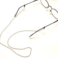 Silver Metal Eyeglass Eyewear Chain for Eyeglasses