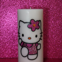 Hello Kitty 6 inch Pillar Candle available in various sizes