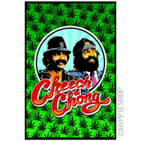 Cheech & Chong Black Light Poster on Sale for $9.99 at HippieShop.com