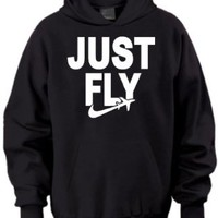Just Fly Taylor Gang Wiz Khalifa Retro Adult Hoodie:Amazon:Clothing