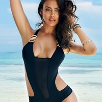 Beach Bunny Swimwear BLACK BEAUTY - Whats New