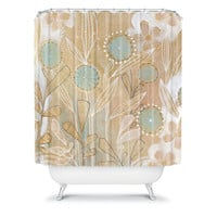 DENY Designs Home Accessories | Cori Dantini Blue Floral Shower Curtain