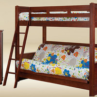 Fordham Twin over Futon Bunk Bed