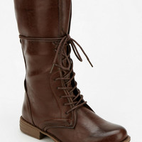 Urban Outfitters - Wanted Jones Lace-Up Mid-Rise Boot