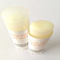 Orange Vanilla Lip Balm, Orange Cream