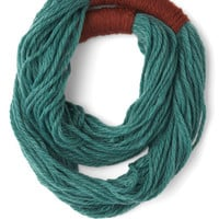 Strands to Reason Circle Scarf in Teal | Mod Retro Vintage Scarves | ModCloth.com