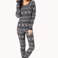 Snowed In PJ Set | FOREVER 21 - 2000110941