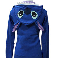 Pokemon Pikachu&Stitch Hoodie Zip Hoodies Cosplay Party Dress Fanny Coat S-XXL
