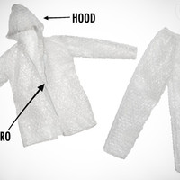 Bubble Wrap Suit: Costume made from bubble wrap