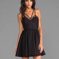 Cameo District Dress in Black