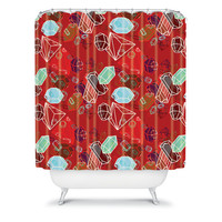 DENY Designs Home Accessories | Nicole Martinez Gems Shower Curtain